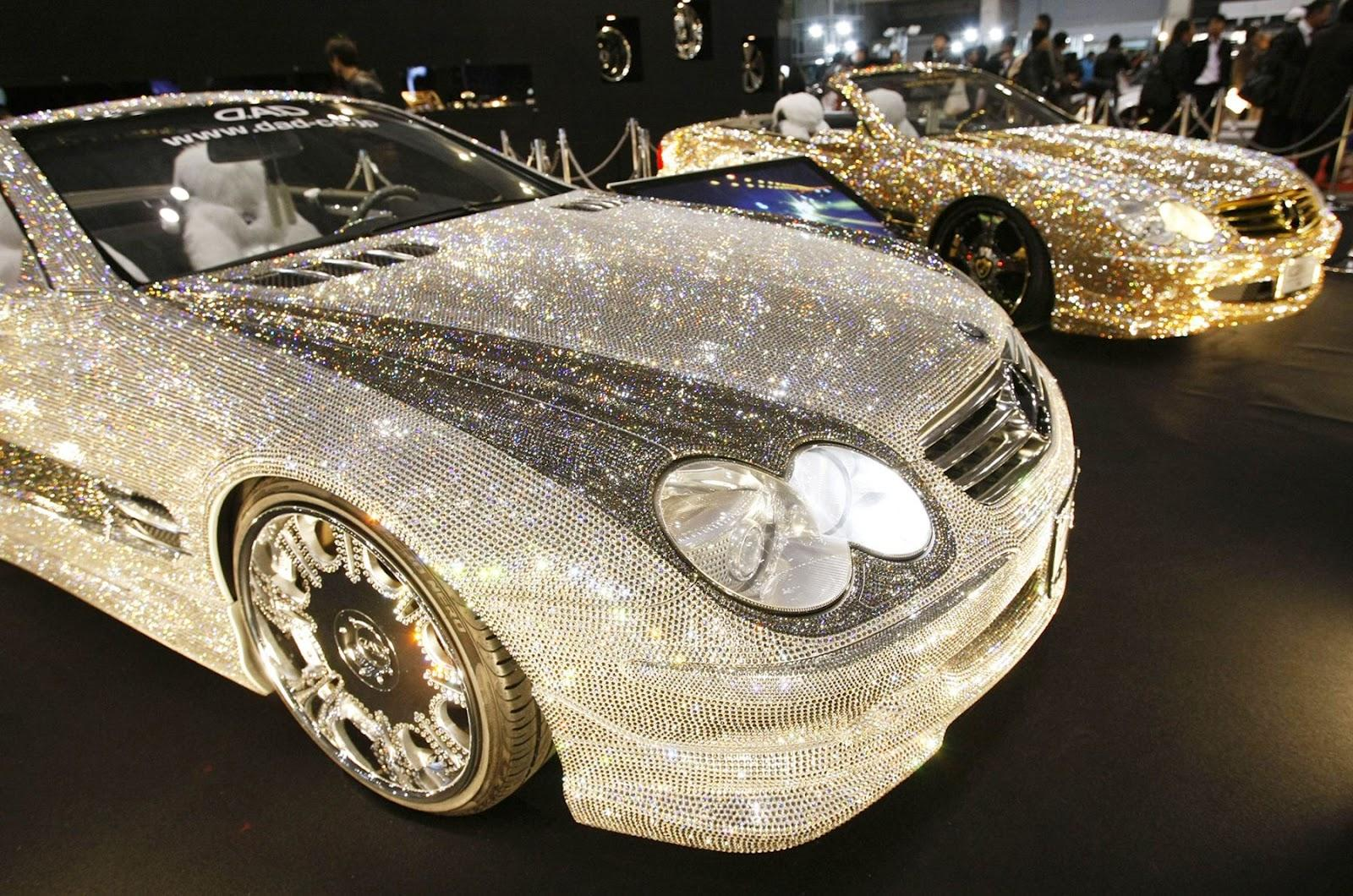 World S Most Expensive Diamond Car Mercedes Car From Japan