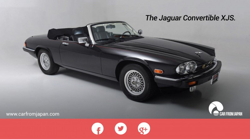 Jaguar convertible xjs