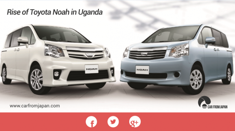 Toyota Noah in Uganda