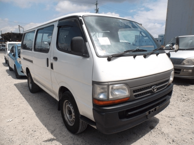 advantages of using a toyota hiace van bought off car from japan. Black Bedroom Furniture Sets. Home Design Ideas