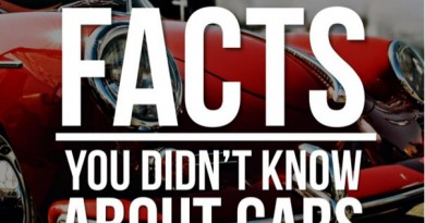 Car facts that you didn't know