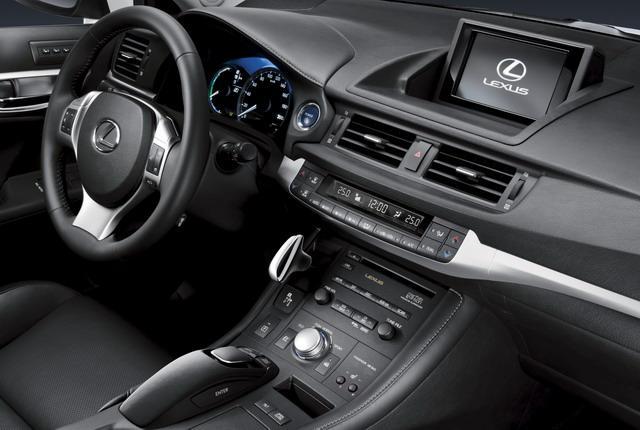 Ct Hybrid interior