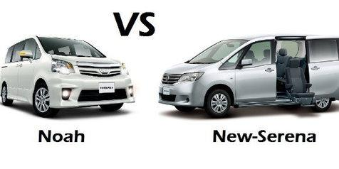 Toyota Noah VS Nissan Serena – An Epic Battle!