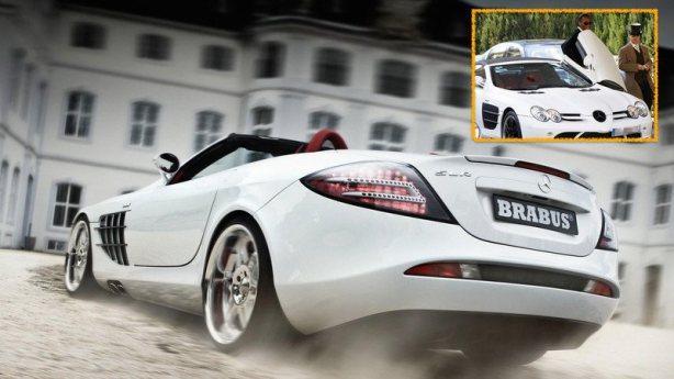 Didier Drogba - Mercedes SL65-AMG