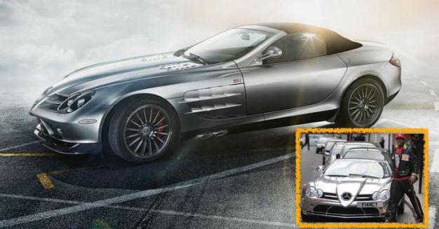 El Hadji Diouf - Mercedes SLR McLaren