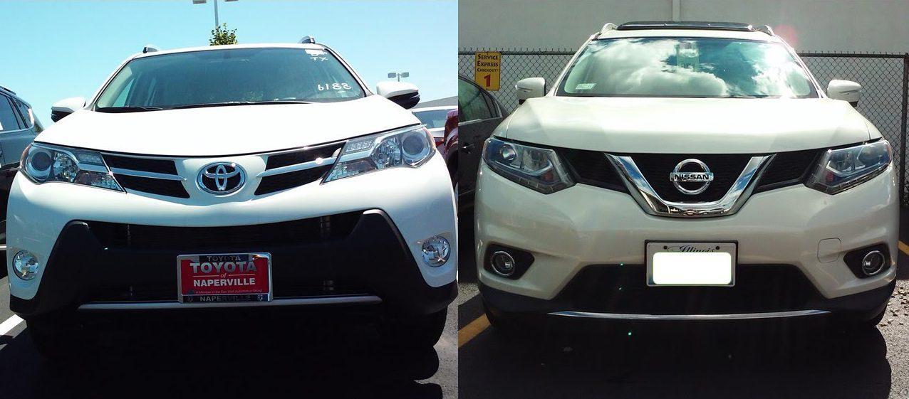 Toyota RAV4 VS Nissan X