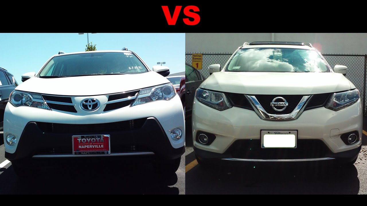 Toyota RAV4 VS Nissan X Features