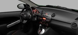 2014 Mazda 2 interior
