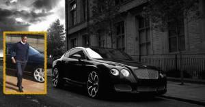 John Obi Mikel - Bentley Continental GT