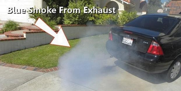 blue smoke from exhaust