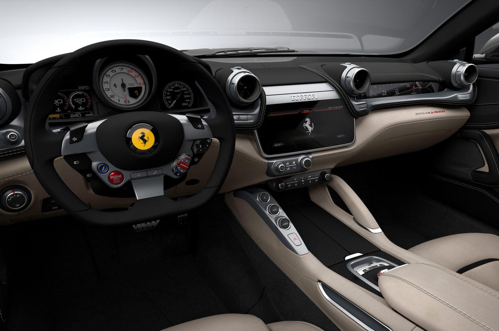 2017 Ferrari-GTC4Lusso interior