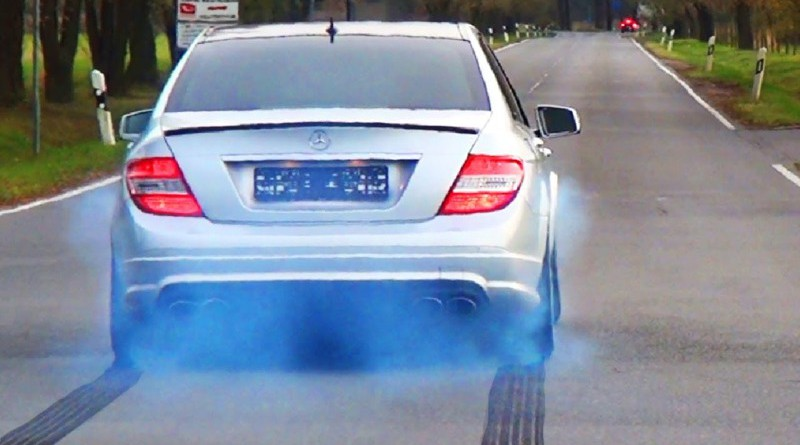 Car Blue Exhaust Smoke problem