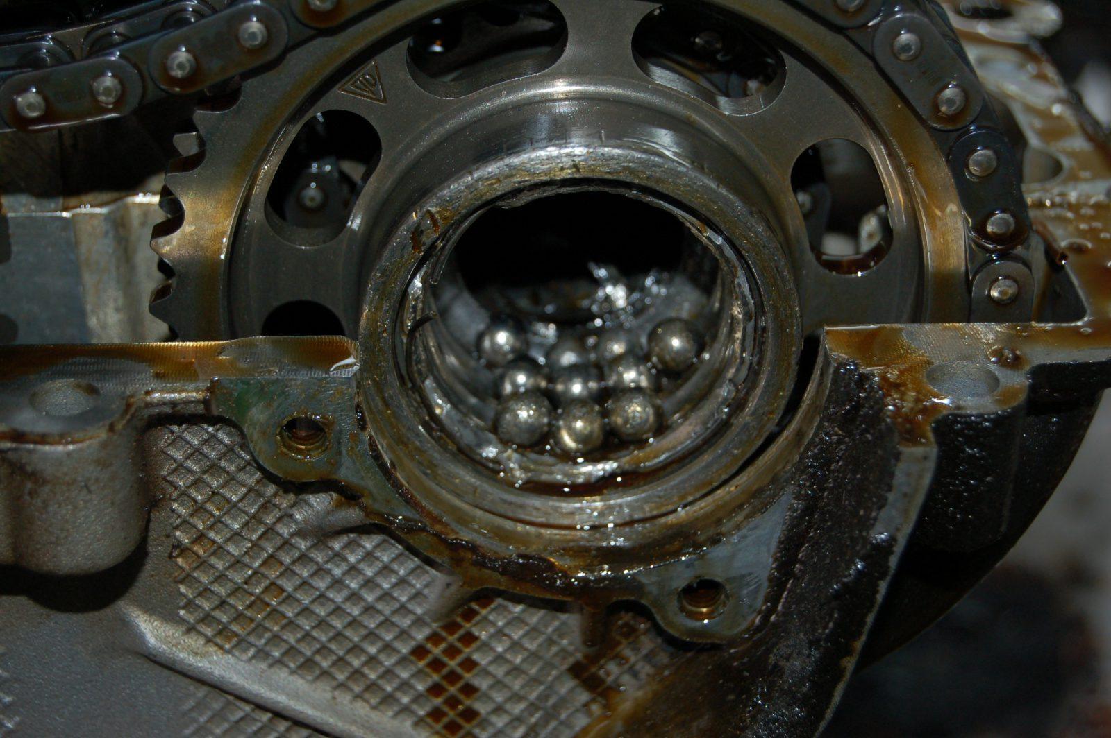 Ducati  Bearing Failure