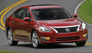 Nissan best selling cars