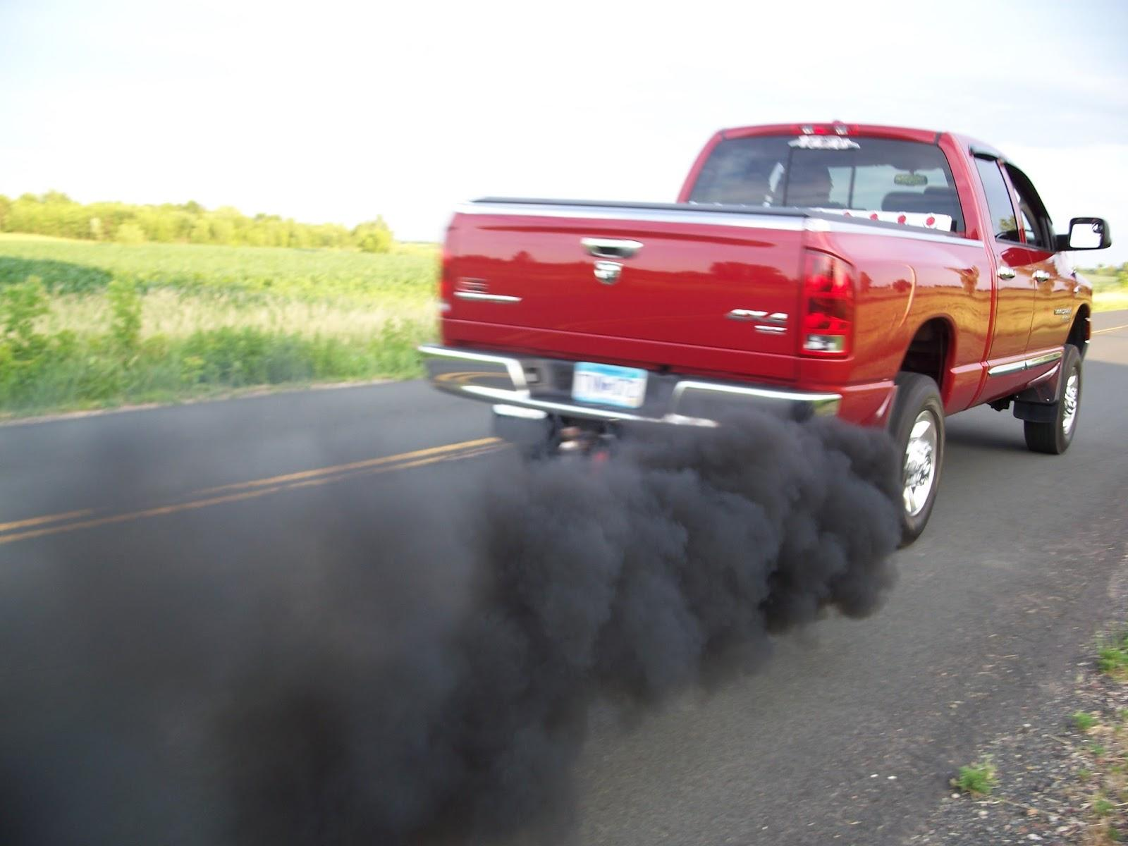 Engine Exhaling Black Smoke
