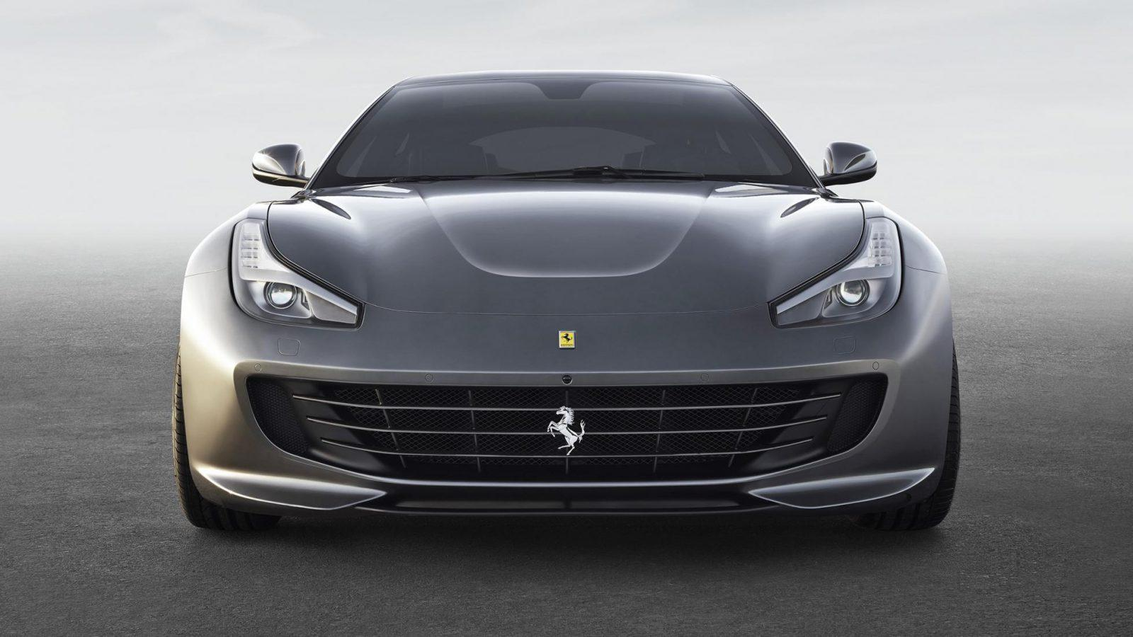 Ferrari GTC4Lusso Front View