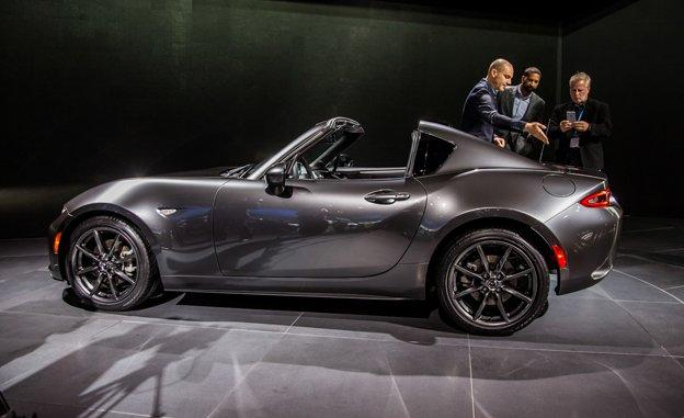 2017 mazda mx 5 rf - the outstranding retractable hardtop