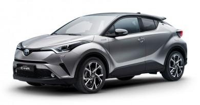 2017 Toyota c hr first look