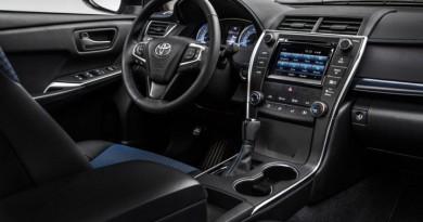 017 Toyota Camry Xle Interior