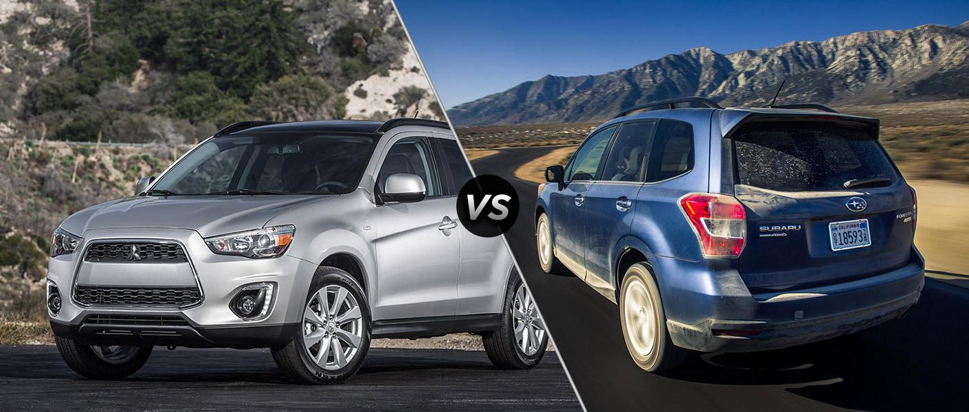 Mitsubishi Outlander vs Subaru Forester: Which Sports Utility Is A
