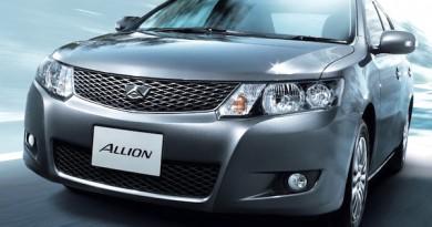 Toyota Allion vs Toyota Premio