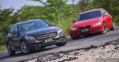 BMW 3 Series vs Mercedes C Class