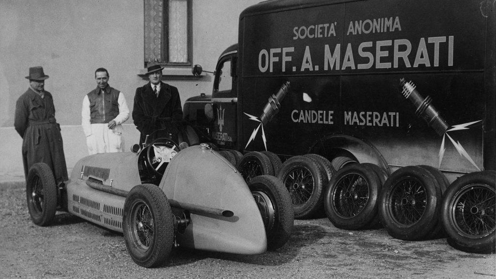 Maserati facts: Maserati brothers create their own car brand