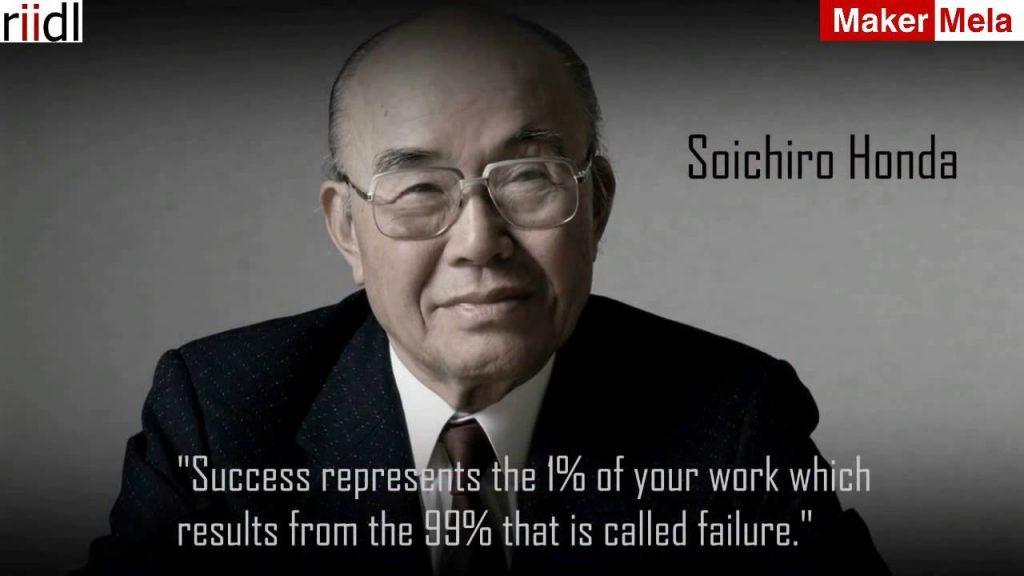 Soichiro Honda - The legendary founder of Honda Motor Company