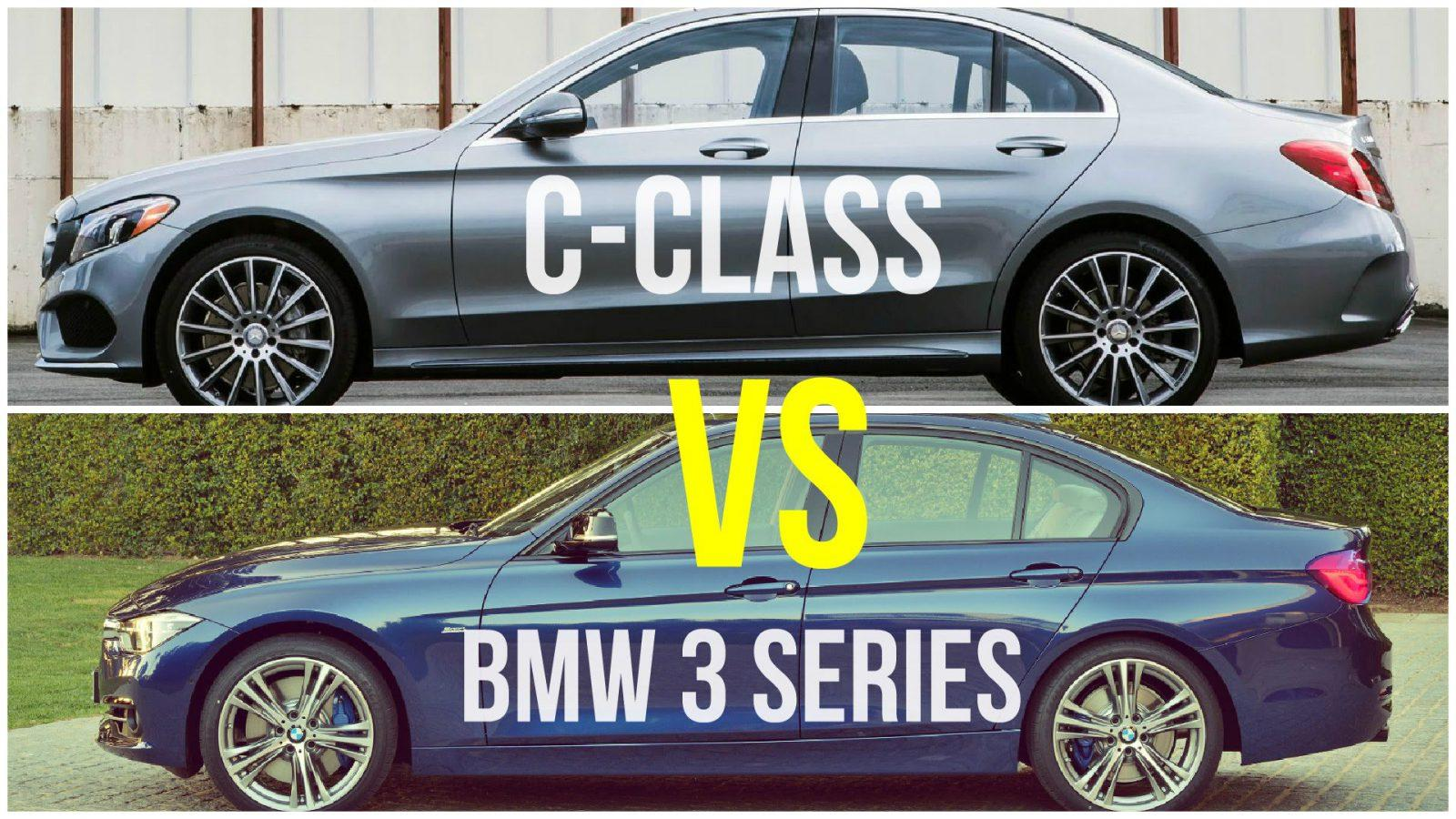BMW 3 Series vs Mercedes c class