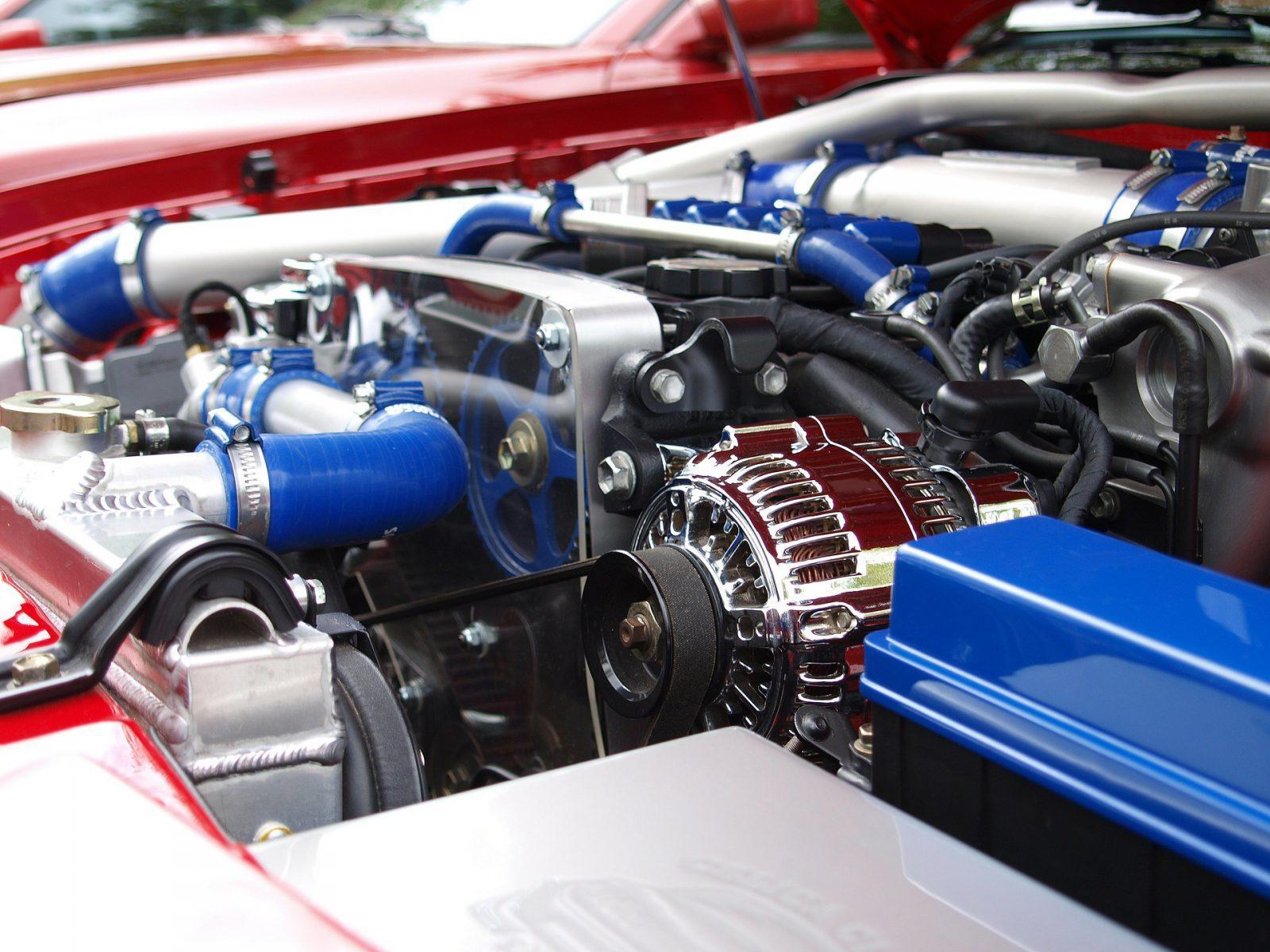engine of Toyota