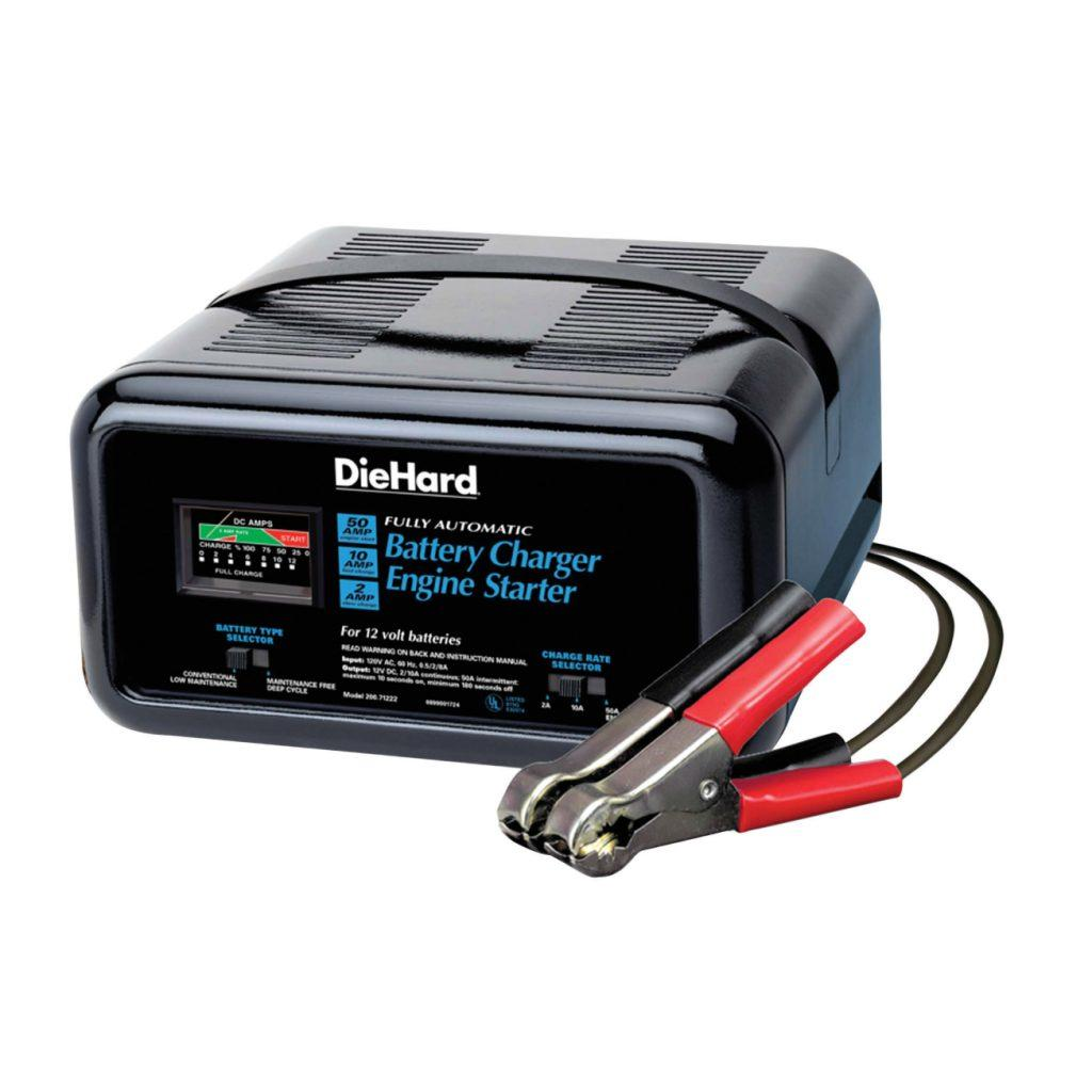 DieHard 10/2/50 amp. Automatic Battery Charger
