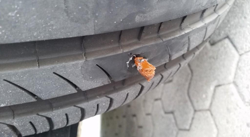 Tire Patch or Tire Plug