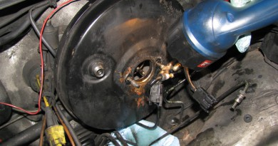 brake booster replacement