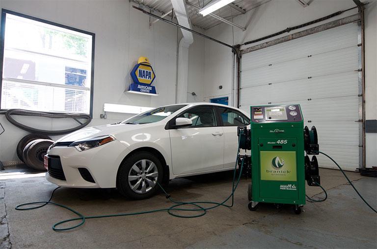 nitrogen tire inflation filling stations