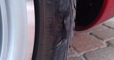damaged sidewall tire repair