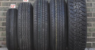 how to find tire size on car