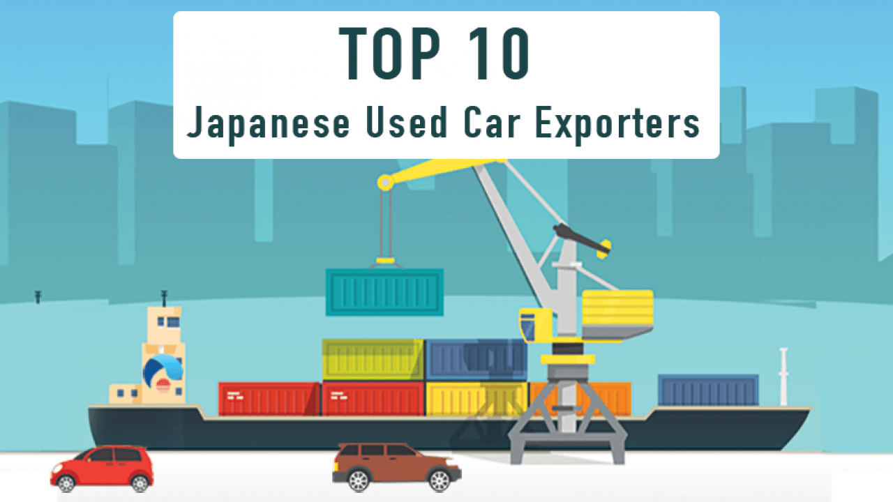 Top 10 Japanese Used Car Exporters | CAR FROM JAPAN