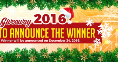 xmas car giveaway winner 2016