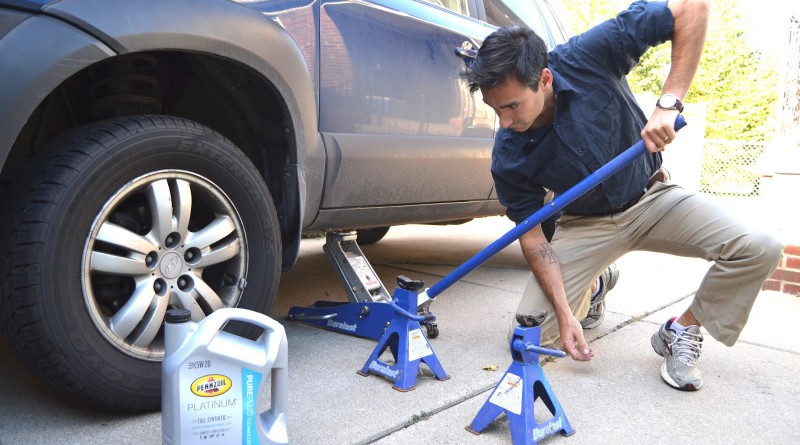 car jack stands how to use