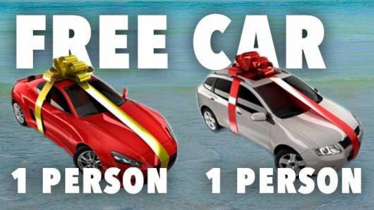 Car giveaway campaign – Is it free car scam or real