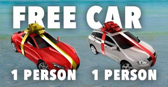 Car giveaway campaign – Is it free car scam or real promotion?