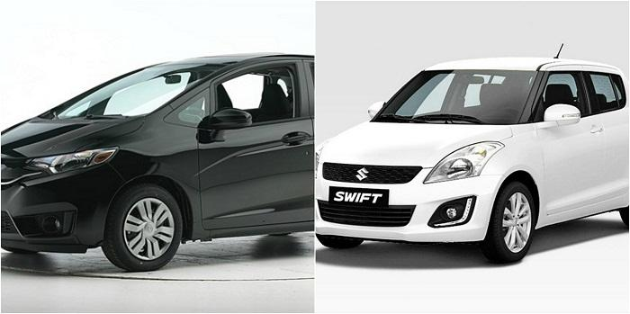 honda fit vs suzuki swift