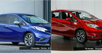 nissan note vs nissan tiida