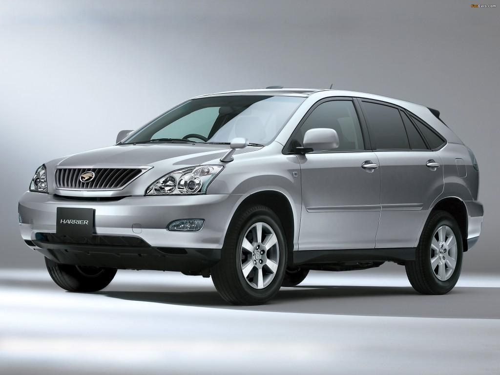 nissan x-trail vs toyota harrier