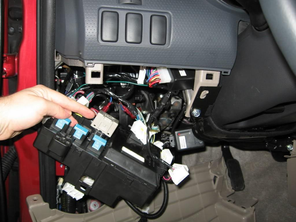 2008 Toyota Tundra Fuse Box Control Wiring Diagram 08 Replacing Flawed Turn Signal Relay Car From Japan