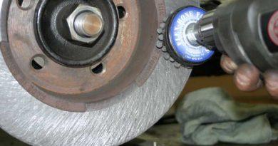 Brake Glazing Removal