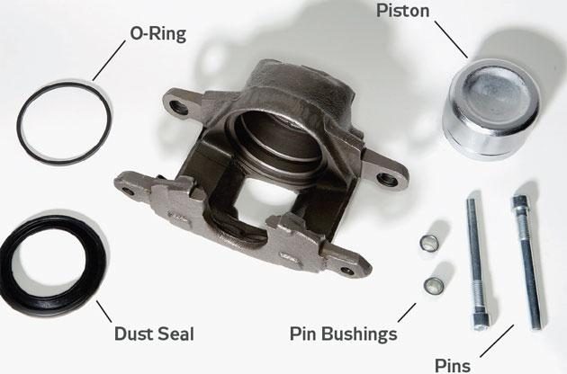 how to do a brake piston replacement