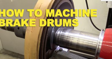 Machining Brake Drums