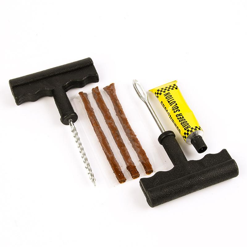 How To Use A Car Tire Repair Kit