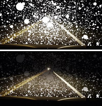 self-fix fog lights